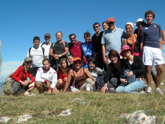 Foto di gruppo - Monte Lieto 18 Agosto 2010