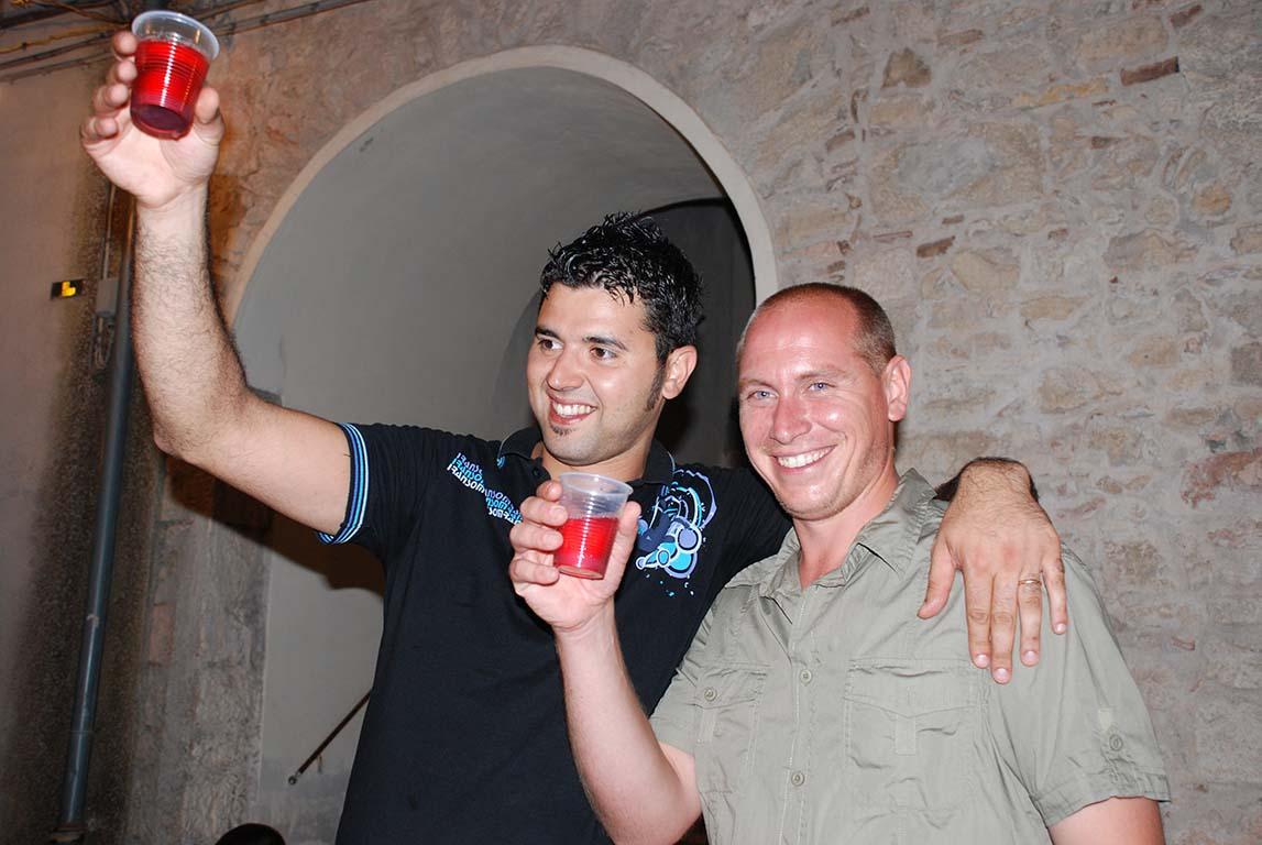 Lo dolce ber che mai non m'avria sazio - Agosto 2008